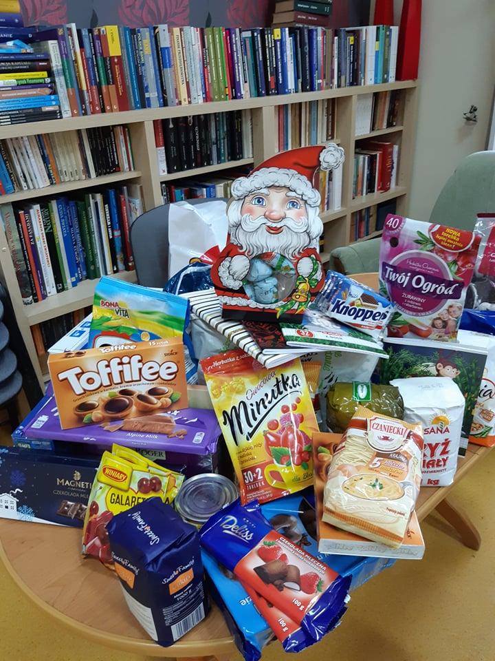 A w bibliotece był Mikołaj